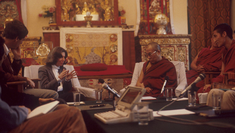 The Mind & Life Conference held at His Holiness the Dalai Lama's residence in Dharamsala, HP, India i 1987.