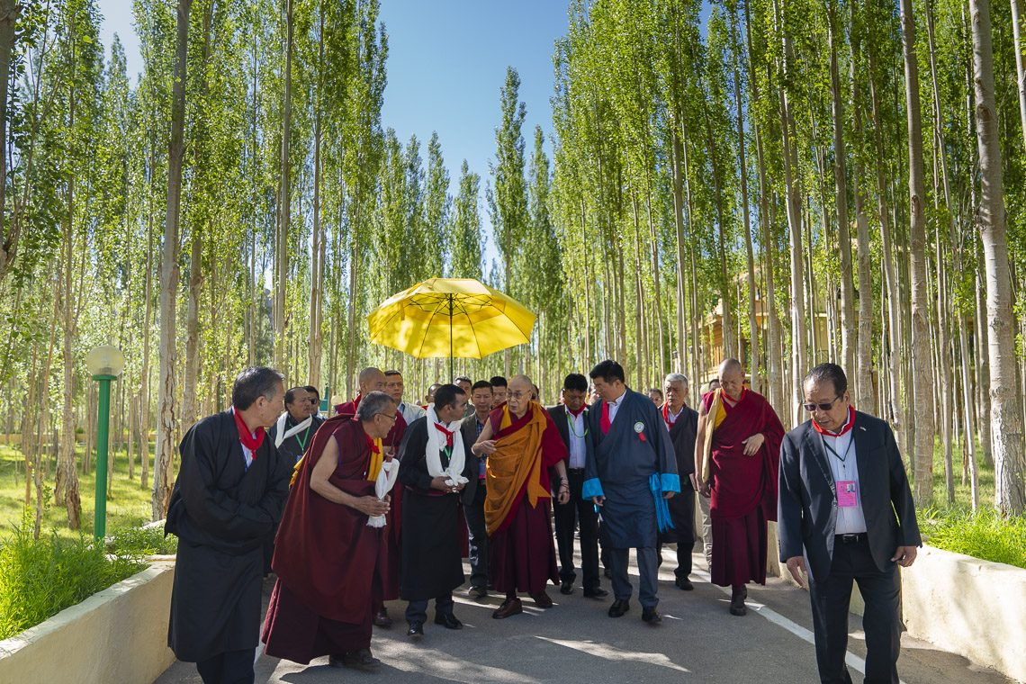 Így ünnepelt a Dalai Láma a születésnapján