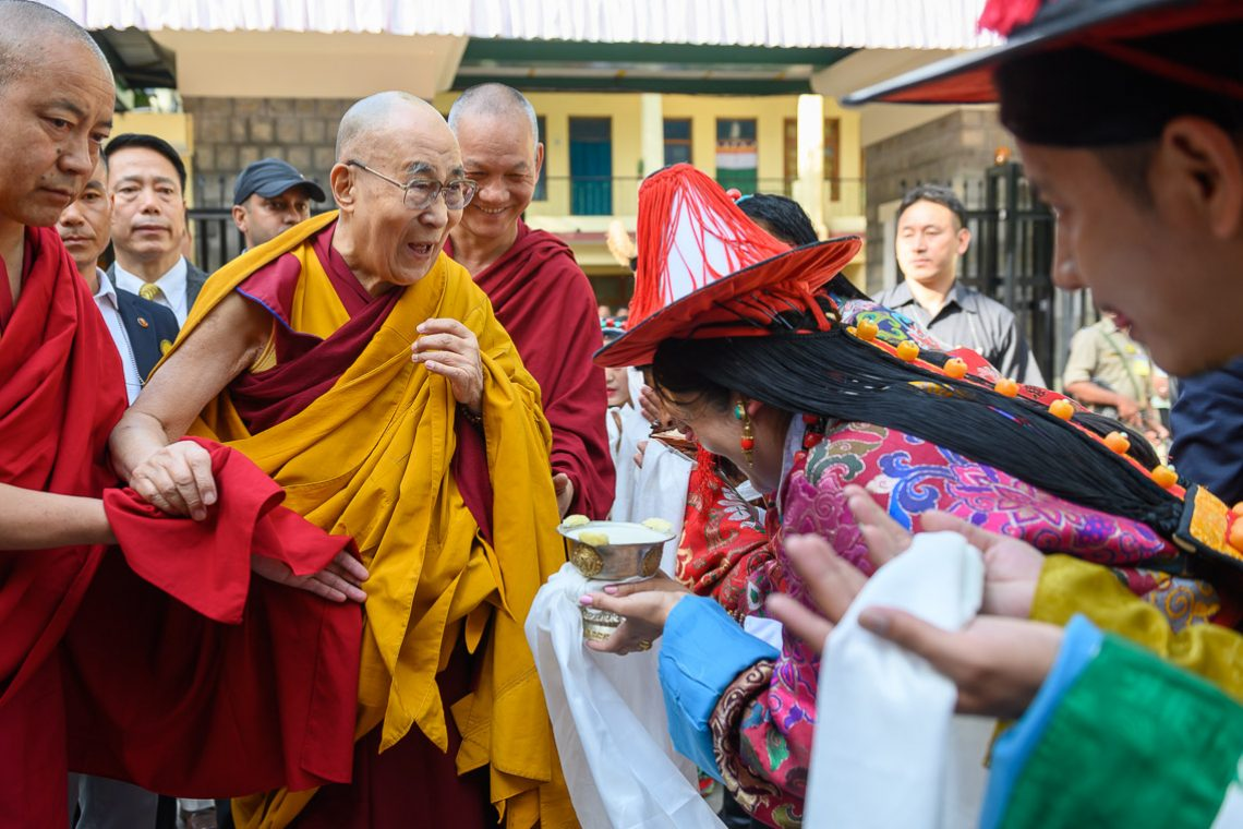 Long Life Offering Ceremony | The 14th Dalai Lama